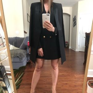 BCBG blazer/coat with shoulders size XS